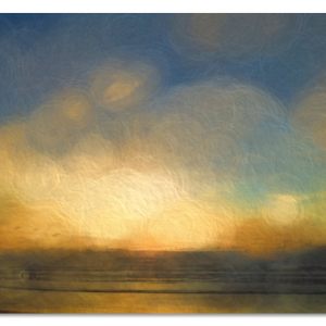 Ocean Glimmer Acrylic Print 20x30